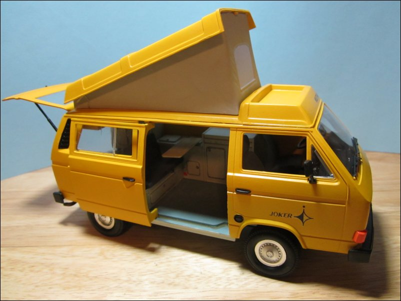 revell 1 25 volkswagen t3 camper 07344 the airfix. Black Bedroom Furniture Sets. Home Design Ideas